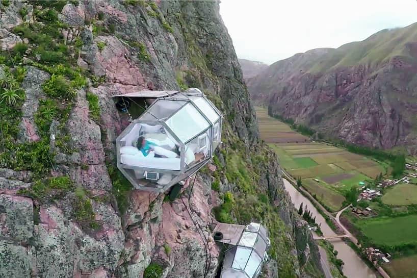 необычные отели мира